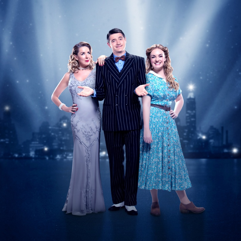 CRAZY FOR YOU. Claire Sweeney 'Irene', Tom Chambers 'Bobby' and Charlotte Wakefield 'Polly'. - SML.jpg